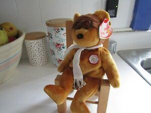 TY Beanie Baby Bearon (Brown) Bear Retired  December 17, 2003