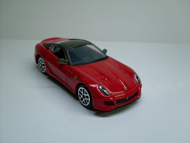 Ferrari 599 Gto, Bburago Car Model 1:64, Ferrari Race & Play