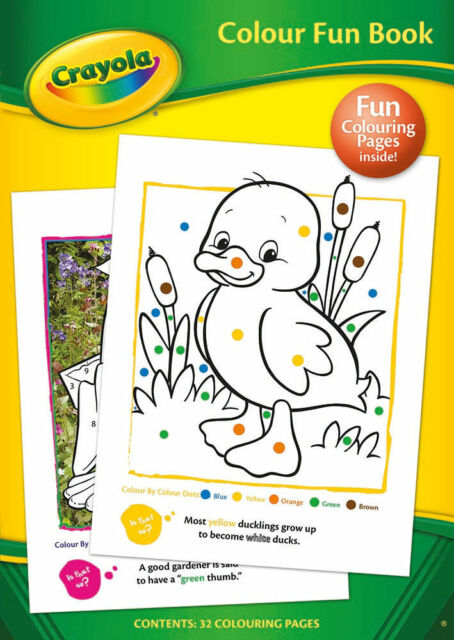Crayola Color Coloring Fun Activity Book- 32 Fun Coloring Pages for Kids 2903