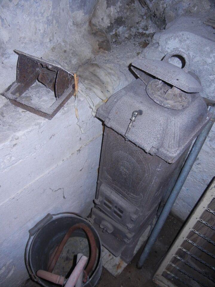Kamin, Husquarna 301 - rigtig god støbejernskamin