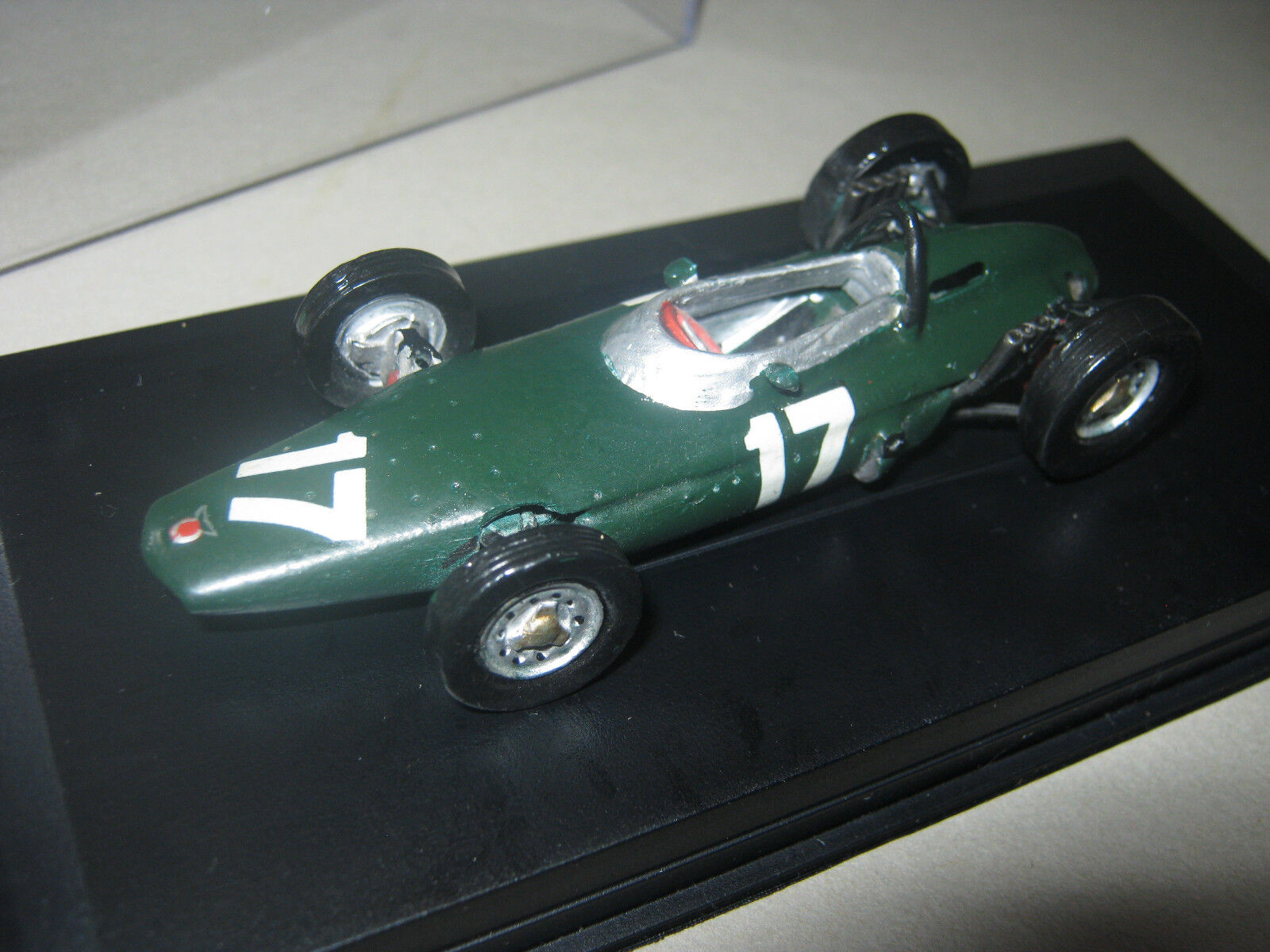 1 43 BRM p56 engined 'stackpipe' BRM p57 p57 p57 g. hill 1962 modelcar en Showcase Top b86c26