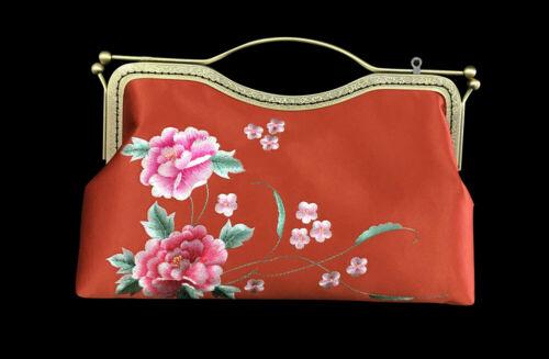 Details about  /Elegant Handsewn Su Embroidery Crossbody Luxury Evening Party Bridal Handbag 102