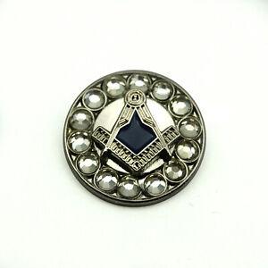 Freemasons Silver Coloured Square /& Compass Masonic Lapel Pin Approx Size = 16 mm x 16 mm .LP-89