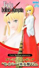 Saber Premium Figure Miko Ver. anime Fate Stay Night SEGA