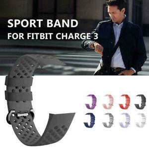 Watch-Band-Replacement-Silicone-Breathable-Wrist-Bracelet-Charge-For-Fitbit-L9Z2