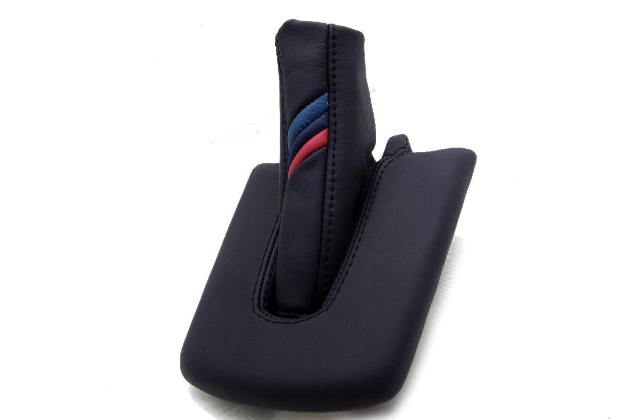 Automatic /& E Brake Boot Vinyl for BMW E85 86 M3 Z4 03-08 Beige Stitch