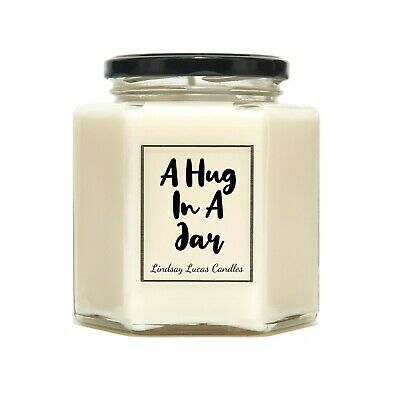 A Hug In A Jar Scented Candle Gift For Friend Boyfriend Girlfriend Ebay