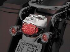 Kuryakyn Chrome Zombie Tail Light Cover - Harley '84-'15 w/o bobbed fender