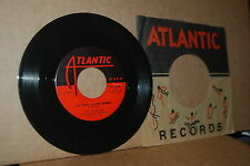 THE CLOVERS: YOU GOOD LOOKING WOMAN & HERE COMES ROMANCE; ATLANTIC 1129 VG++ 45