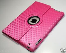 360°Rotate Smart Cover Leather Case For Apple iPad 2 New IPad 3/4