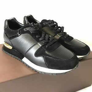 57369933aec8 Image is loading New-Louis-Vuitton-Run-Away-Sneakers-Black-And-