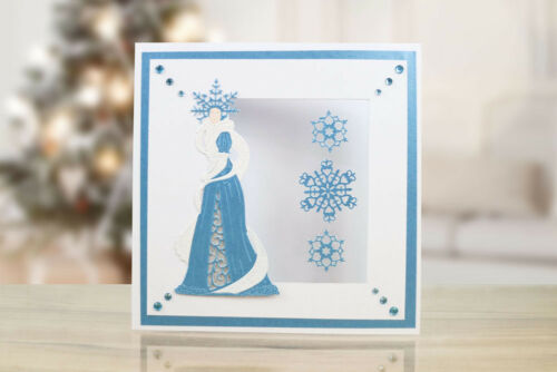 Tattered Lace SNOW PRINCESS Die TLD0545 From the Fantasy Christmas Collection