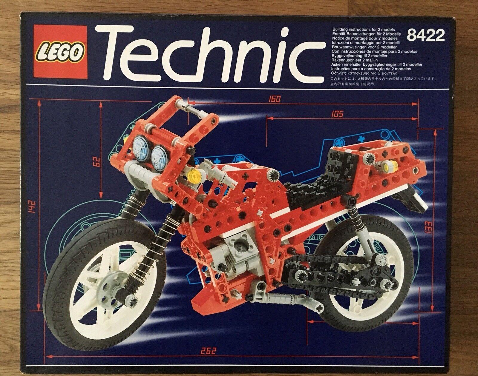 Lego Technic Technik 8422 Motorrad Motorrad Motorrad Neu Ovp MISB NEW 245c3f