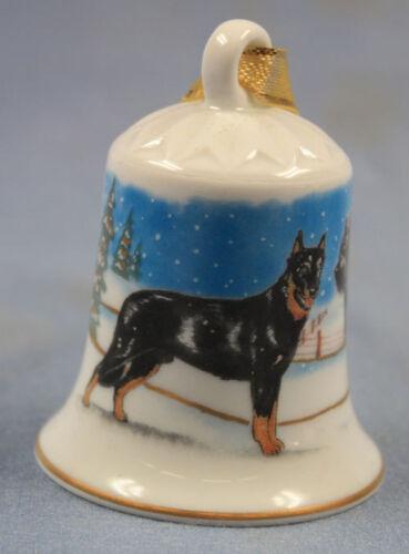 briard und beauceron Porzellan glocke figur porzellan weihnachtsglocke 128
