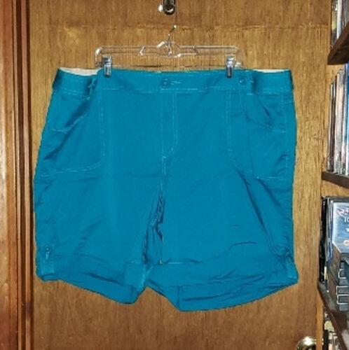 Venezia Turquoise Shorts - Size 28 - image 1