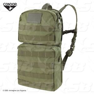Backpack Hydro With Latching Springs Condor Olives, 2,5 Lt