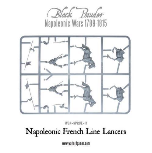WARLORD NAPOLEONIC FRENCH LINE LANCERS SPRUE BLACK POWDER