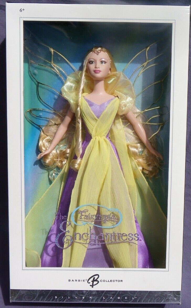 Barbie THE ENCHANTRESS Fairytopia Fée ailéee 2004 Mattel G8065 magie doll NRFB