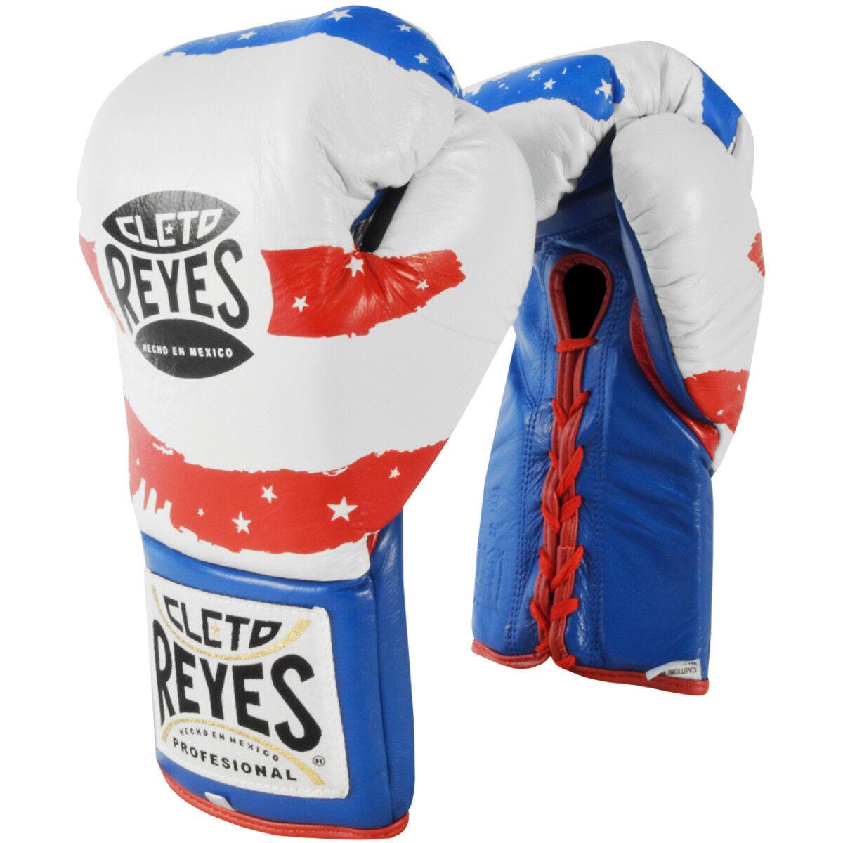 Cleo Reyes, guante oficial de boxeo.