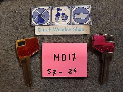 MD-17 1 KEY BLANK COLE  MD17 B8450S MD1054K MAS-16D