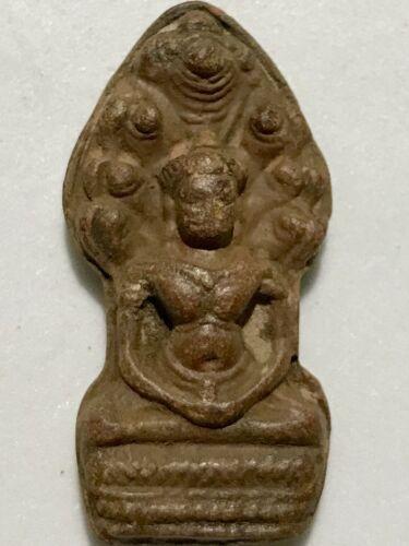 PHRA NAKPROK LP RARE OLD THAI BUDDHA AMULET PENDANT MAGIC ANCIENT IDOL#10