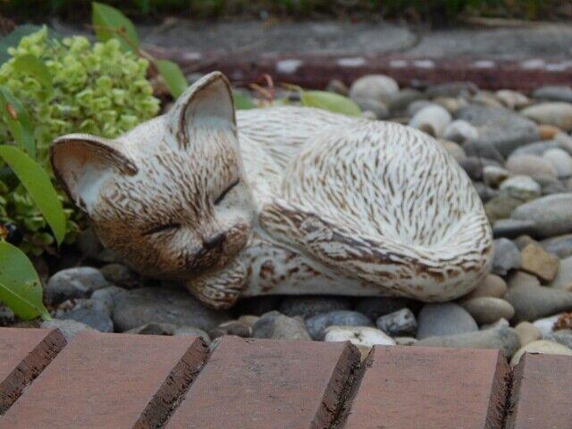 Animale urna sottostante all'GATTO di Ceramica volume circa 0,6 L..  20563