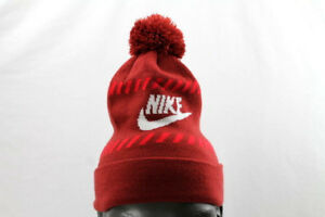 brand new 1be45 7c4ff Image is loading NWT-Nike-FUTURA-COLD-WEATHER-NIKE-LOGO-POM-