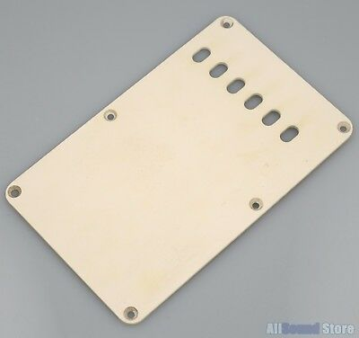*NEW Aged Pearloid TREMOLO BACK COVER for Fender Stratocaster Strat 3 Ply