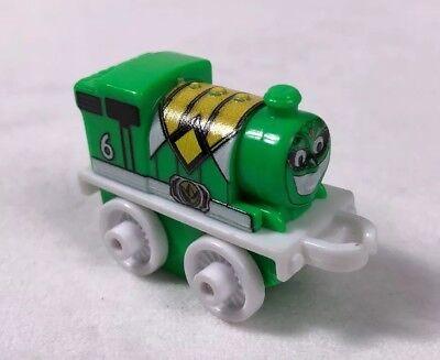 new Power Rangers Thomas /& Friends Minis PERCY as GREEN RANGER