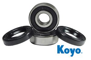 Kawasaki KLF220 220 Bayou Front and Rear Wheel Bearings and Seals