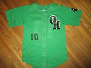 Ottawa-Hills-Verde-Bears-Beisbol-10-Camiseta-Ohio-Alto-Escuela-Sports-Mediano