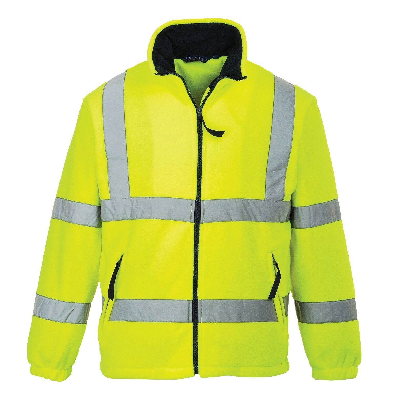 Portwest F300 - Hi-Vis Mesh Lined Fleece