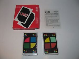 Details about Vintage Uno Card Game Mendi Kot Made In India New Sealed Decks