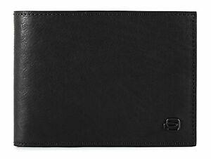 Piquadro B3 Wallet With Coin Pocket Geldbörse Nero Schwarz Neu Herren-accessoires