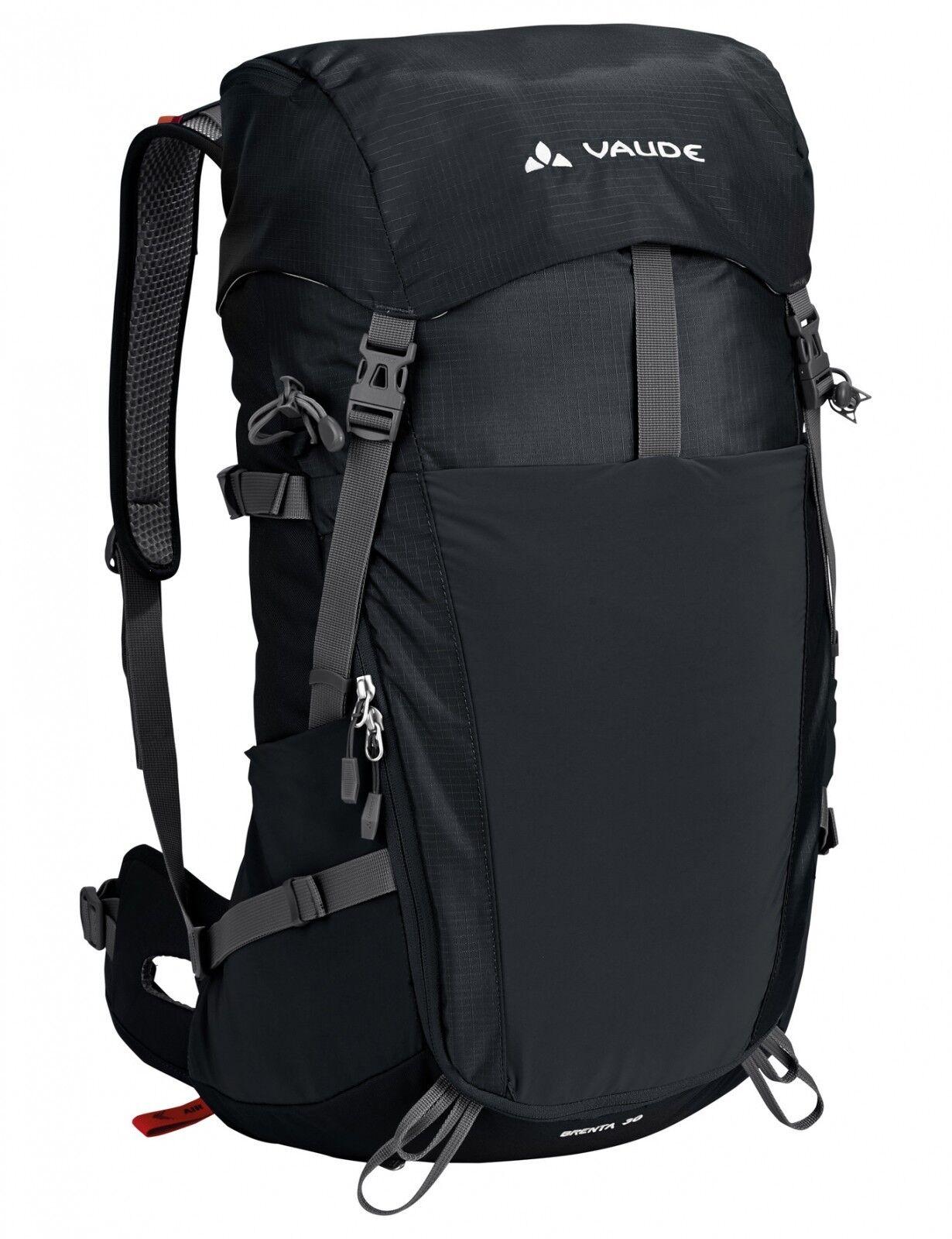 Vaude escursioni a piedi Trekking Expeditions Zaino reintroduzione 25 LITRI NERO