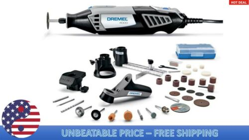 Dremel 4000 39-Piece Variable Speed Corded Multipurpose Rotary ToolKit 4000-4//34