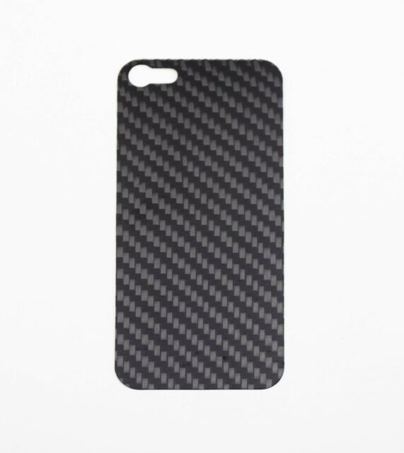 Iphone 5-5S Real Black CarbonFiber Back Plate For Element Vapor PRO SGP Neo Case