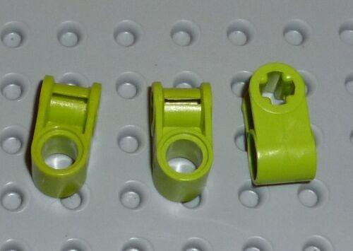 LEGO-TECHNIC-axe /& broches du connecteur perpendiculaire lime x 3 6536 TK273