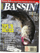 BASSIN' MAGAZINE Lot of 2 April May 1995