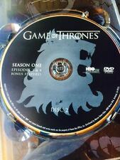 Game of Thrones Season 1 disc 2 Replacement Disc DVD ONLY