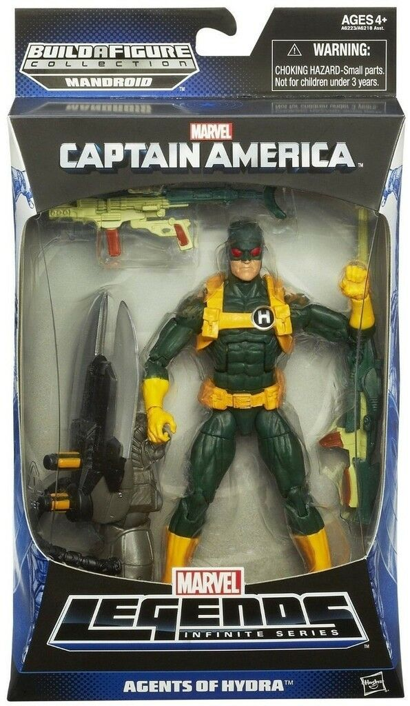 MARVEL LEGENDS CAPTAIN AMERICA HYDRA SOLDIER INFINITE
