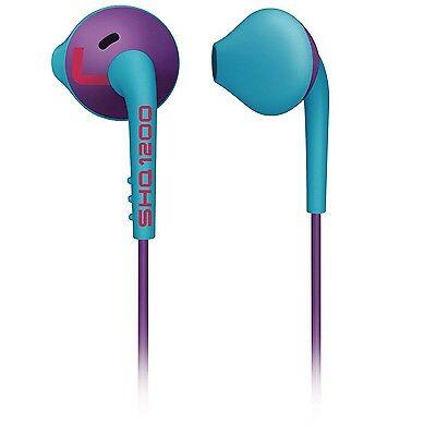 Philips SHQ1200PP ActionFit Sports in ear headphones ActionFit SHQ1200 Purple