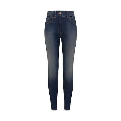 EX M&S COLLECTION 9333 LADIES 5 POCKET DENIM JEGGINGS ADDED STRETCH 5 COLOURS