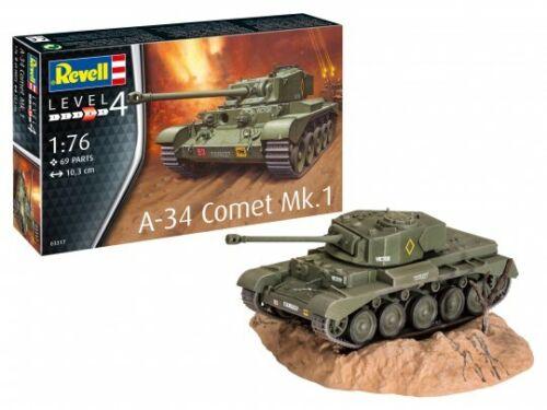 Neu Revell 03317-1//76 A-34 Comet Mk.1