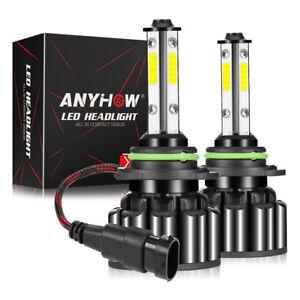 4-Side-9005-9145-HB3-LED-Headlight-Kit-200W-20000LM-Hi-Lo-Beam-Bulb-6000K-White