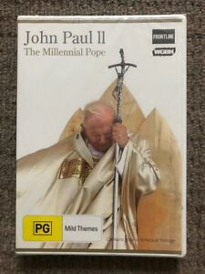 Pope-John-Paul-II-2-The-Millennial-Pope-DVD-NEVER-PLAYED-amp-STILL-SEALED