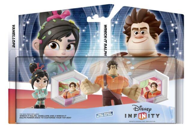 DISNEY INFINITY WRECK-IT RALPH TOY BOX SET (Xbox 360/PS3/Wii/WiiU/3DS) NEW