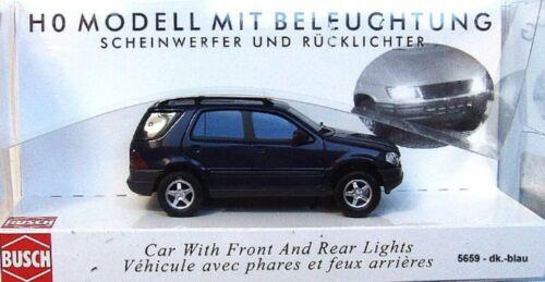 BUSCH 5659 Mercedes M-Klasse H0 dunkelblau#NEU in OVP#