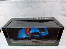1/18 SCALE 1998 LOTUS ESPRIT TURBO S2 IN METALLIC BLUEREDWHITE BY AUTO ART.