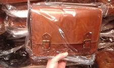 borsa DONNA in CUOIO PELLE  CON Tracolla Artigianale bag 30x22 L8CM